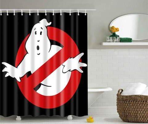 Déco salle de bain : les rideaux de douche ont la cote